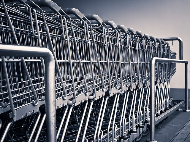 store cart